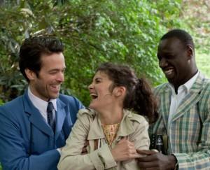 Romain Duris, Audrey Tautou & Omar Sy