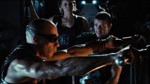 Vin Diesel, Katee Sackhoff & Matt Nable