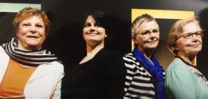 Martine Degraeve, Lien Vanden Broecke, Roos Courtens & Mia Vanoutryve
