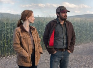 Jessica Chastain & Casey Affleck