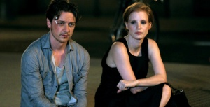 James McAvoy & Jessica Chastain