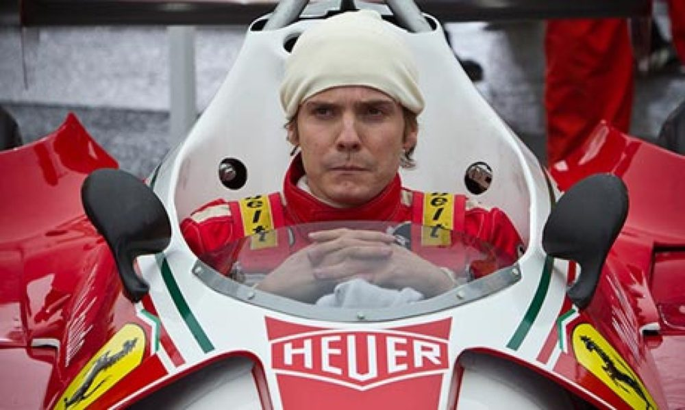 Daniel Brühl as Niki Lauda in Rush: 'Niki is very sharp and honest, he never repeats himself.'